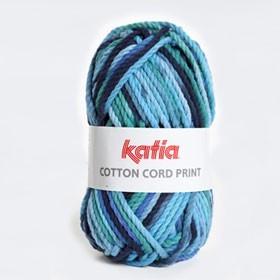 COTTON CORD PRINT - 105. Azul
